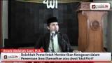 Ketegasan Pemerintah Menentukan Awal Ramadhan dan Idul Fitri