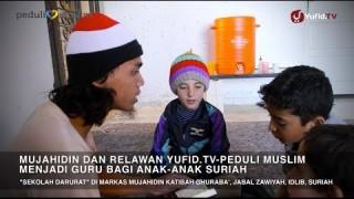 Bantu Anak Suriah Agar Tetap Sekolah – Documentary Peduli Muslim Suriah