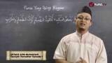 Tausiyah Ramadhan 1: Puasa Tidak Hanya Menahan Makan Minum – Ustadz Aris