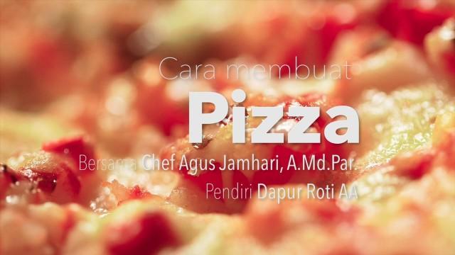 Dapur Yufid: Cara Membuat Pizza (Resep Pizza Udang dan Tuna)