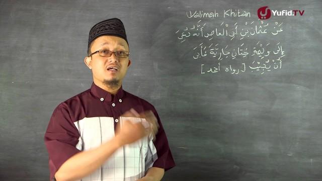 Serial Kajian Anak (39): Walimah Khitan Anak Perempuan – Ustadz Aris Munandar