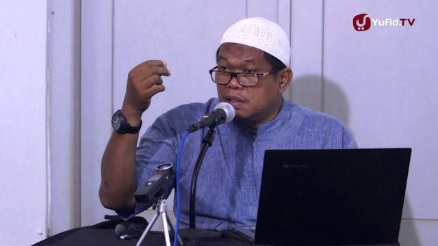 Kajian Shahih Bukhari – Zakat dan Mengantarkan Jenazah Bagian dari Iman – Ustadz Abu Sa'ad, M.A.