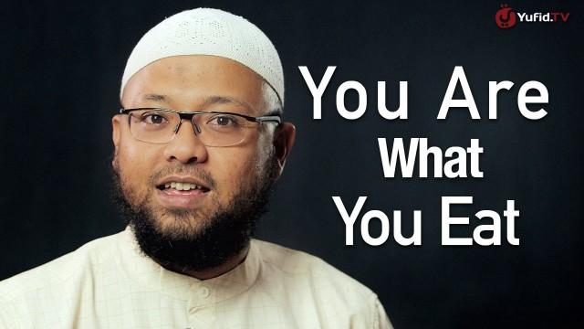 Ceramah Singkat: You are what you eat – Riyadh bin Badr Bajrey