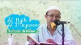 Fiqih Muyassar: Bab Sumpah dan Nazar 2 – Ustadz Aris Munandar
