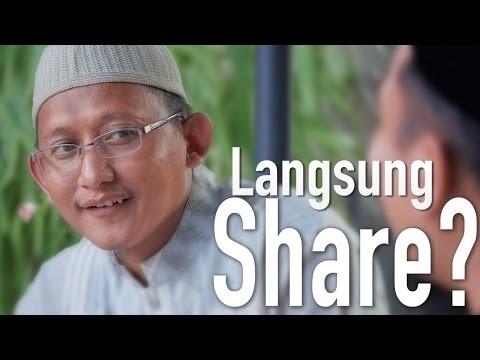 Ceramah Singkat: Langsung Share? – Ustadz Badrussalam, Lc.