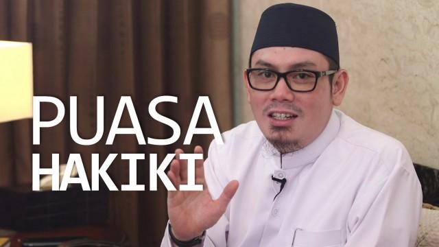 Ceramah Singkat: Puasa Hakiki – Ustadz Ahmad Zainuddin, Lc