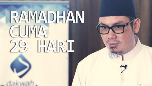 Ceramah Singkat: Ramadhan Cuma 29 Hari – Ustadz Ahmad Zainuddin, Lc