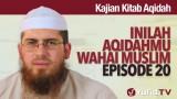 Serial Kajian Aqidah: Episode 20 – Syaikh Abdurrahman bin Muhammad Musa Alu Nasr