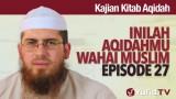 Serial Kajian Aqidah: Episode 27 – Syaikh Abdurrahman bin Muhammad Musa Alu Nasr
