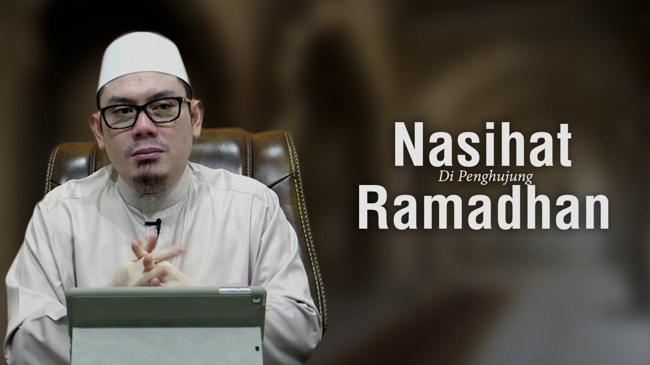 Nasihat Di Penghujung Ramadhan – Ustadz Ahmad Zainuddin ...