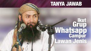 Konsultasi Syariah: Hukum Ikut Grup Whatsapp Bercampur Lawan Jenis – Ust. Dr. Syafiq Riza Basalamah